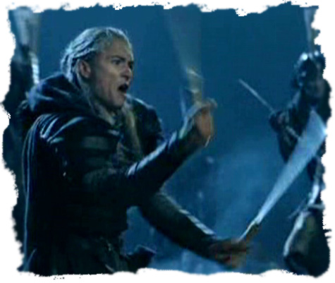 Legolas Fighting Knives (Daggers)